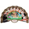 Набор суши и роллов Сакура DeLuxe Калифорния 370г