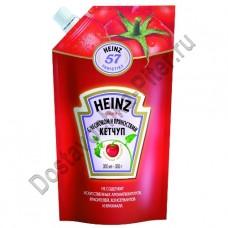Кетчуп HEINZ с чесноком и пряностями дой/пак 350г
