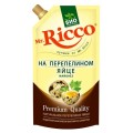 Майонез Mr. Ricco на перепелином яйце 67% 210мл