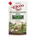 Майонез Mr.Ricco Organic на перепелином яйце 67% 400мл д/п
