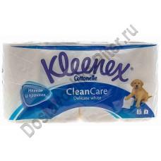 Туалетная бумага Kleenex белая 2сл 8рул