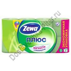 Туалетная бумага Zewa Plus яблоко 2сл 8шт