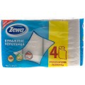 Бумажные полотенца ZEWA 4 рулона