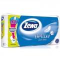 Туалетная бумага Zewa Deluxe белая 3-х сл 8рул