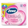 Туалетная бумага Zewa Deluxe Орхидея 3сл 4рул