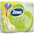 Туалетная бумага Zewa Deluxe Ромашка 3сл 4шт