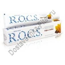 Зубная паста R.O.C.S кофе и табак 74г
