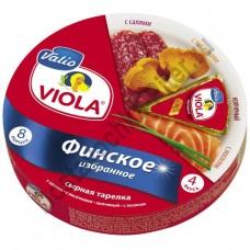 Сыр плавленый Valio Viola ассорти Финское избранное 130г