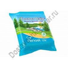 Сыр Тысяча Озёр Легкий 15% 240г
