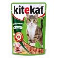 Корм KiteKat кролик в соусе 100г