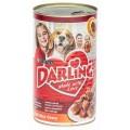 Корм Darling для собак мясо+печень консервы 1,2кг конс