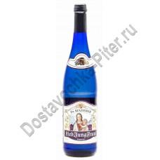 Вино Молодая Любимая Женщина белое п/сл 12% 0,75л