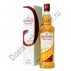 Виски Дюарс бел.этикетка 40% 0,75л п/у