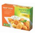 Наггетсы куриные c сыром Мираторг 300г