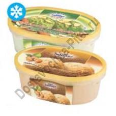 Мороженое пломбир фисташка и орех миндаль Dessert Fantasy 450г