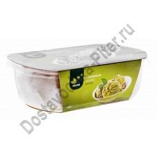 Мороженое ОКЕЙ пломбир фисташковый с миндалем 450г