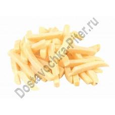 Картофель фри 10мм весовой замороженный 1кг