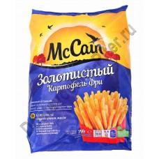 Картофель фри золотистый длинный и тонкий 750г МакКейн