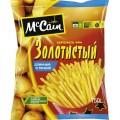 Картофель фри McCain золотистый длинный и тонкий 750г