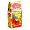 Чай Basilur Волшебные фрукты Клубника и киви черный 100г