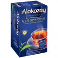 Чай ALOKOZAY черный Эрл Грей 25 пак в конвертах