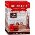 Чай BERNLEY Earl Grey черный с бергамотом 200г