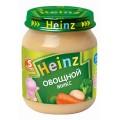Пюре Heinz Овощной микс 120г ст/б с 5мес