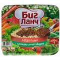 Лапша Биг Ланч соус/кусочки говядины 110г