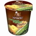 Пюре картофель. Картошечка Ржаные сухарики/Малосольный огурец 50г