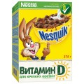 Готовый завтрак Nestle Nesquik шоколадные шарики 375г