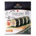 Водоросль морская Sen Soy Premium Суши-Нори 10 листов 28г