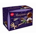 Зефир Laima Maigums в шоколаде с начинкой черная смородина 185г