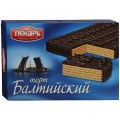 Торт Балтийский вафельно-шоколадный Пекарь 320г