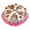 Торт Невские берега сметанник с орехами порционный 1000г