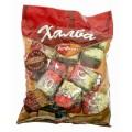 Конфеты Халва арахисовая пакет 400г Рот Фронт