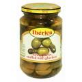 Евроогурчики Iberica оливки+огурчики 370г ст/б