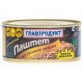 Паштет из гусиной печени деликатесный ГЛАВПРОДУКТ 315г ж/б