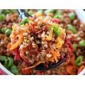 Каша гречневая с овощами кулинария ОКЕЙ 100г