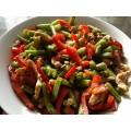 Индейка с овощами 100г кулинария ОКЕЙ