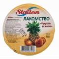 Желе фруктовое Stailon Лакомство фрукты в желе 160г