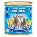 Молоко сгущенное Алексеевское с сахаром 8,5% 360г ж/б