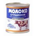 Молоко сгущённое Молочная страна стерилизованное без сахара ГОСТ 7,8% 338г