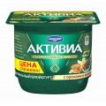 Биойогурт Активиа обогащенный орехи/семена чиа 2,9% 150г