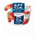 Йогурт Epica Bouquet с клубникой и розой 4,8% 130г