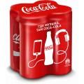 Напиток Coca-Cola б/алк газ 4х0,33л ж/б