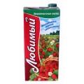 Напиток Любимый яблоко/черн.рябина/земляника 1,93л т/пак