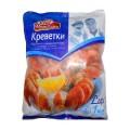Креветки в панцире Vici Lux Душа океана варено-мороженые 70/90 1кг
