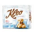 Туалетная бумага Kleo Ultra белая 3сл 4рул