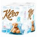 Туалетная бумага Kleo 3сл 8рул