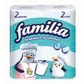 Полотенца бумажные Familia 2сл 2рул